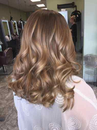 Hair Color Blonde Honey Caramel Highlights Light Browns