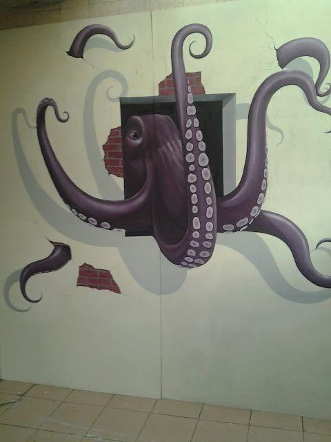 Jasa Lukis Dinding 3D | Lukisan dinding sekolah rendah