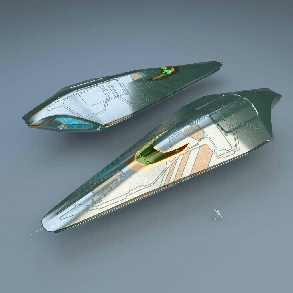 Luxury spaceship by cga32 starships pinterest for Space concept