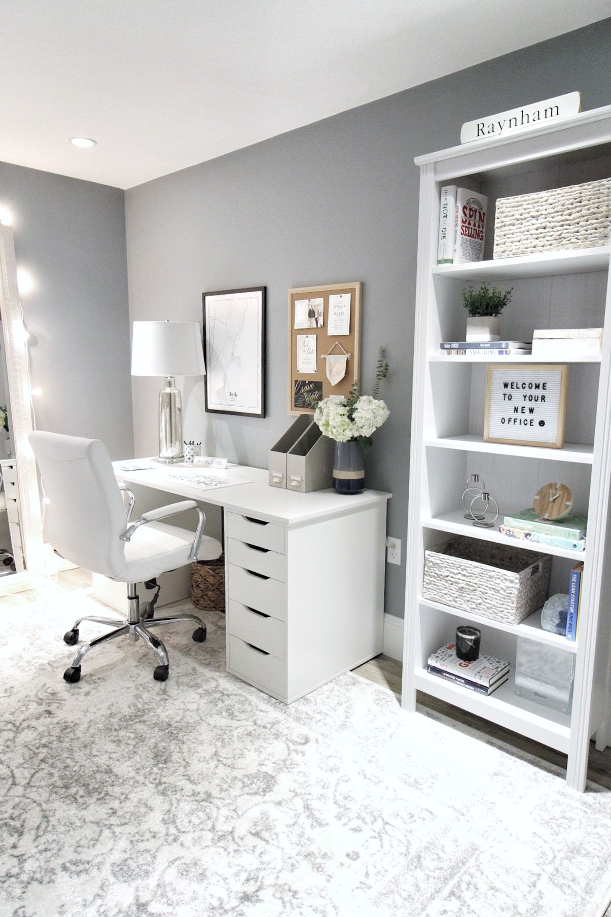 Tony And Abby S Boston Work Space Reveal Emilyeveryday Study Room Decor Home Room Design Home Office Design
