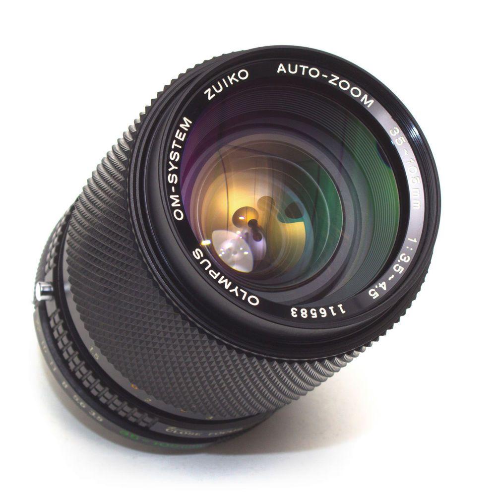 Zuiko 35 105mm F3 5 4 5 Auto Zoom Lens Olympus Om Fit Full Frame Japan Excellent Vintage Lenses Zoom Lens Cameras For Sale