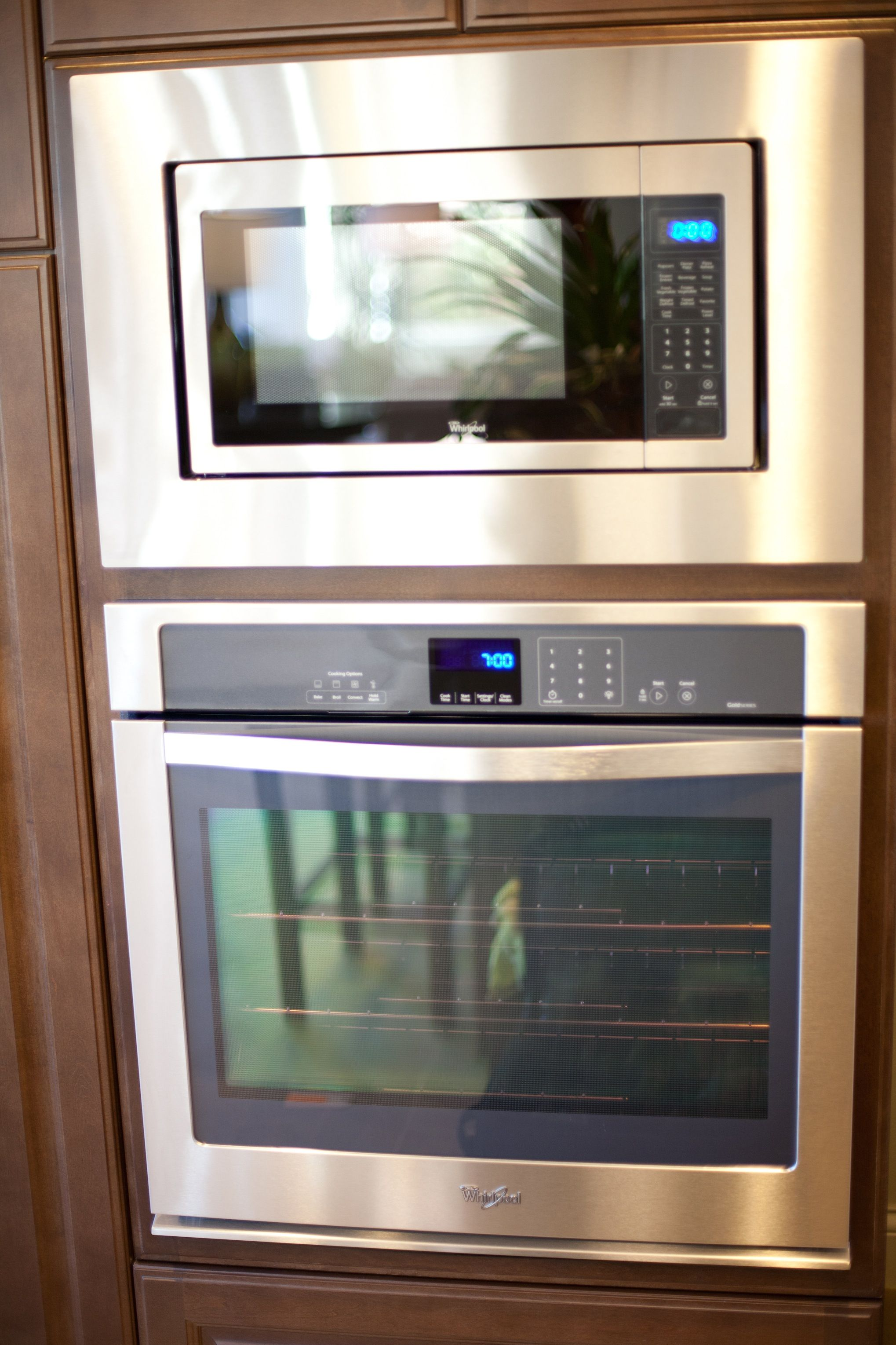 Whirlpool Gold Series Stainless Steel Finish Microwave
