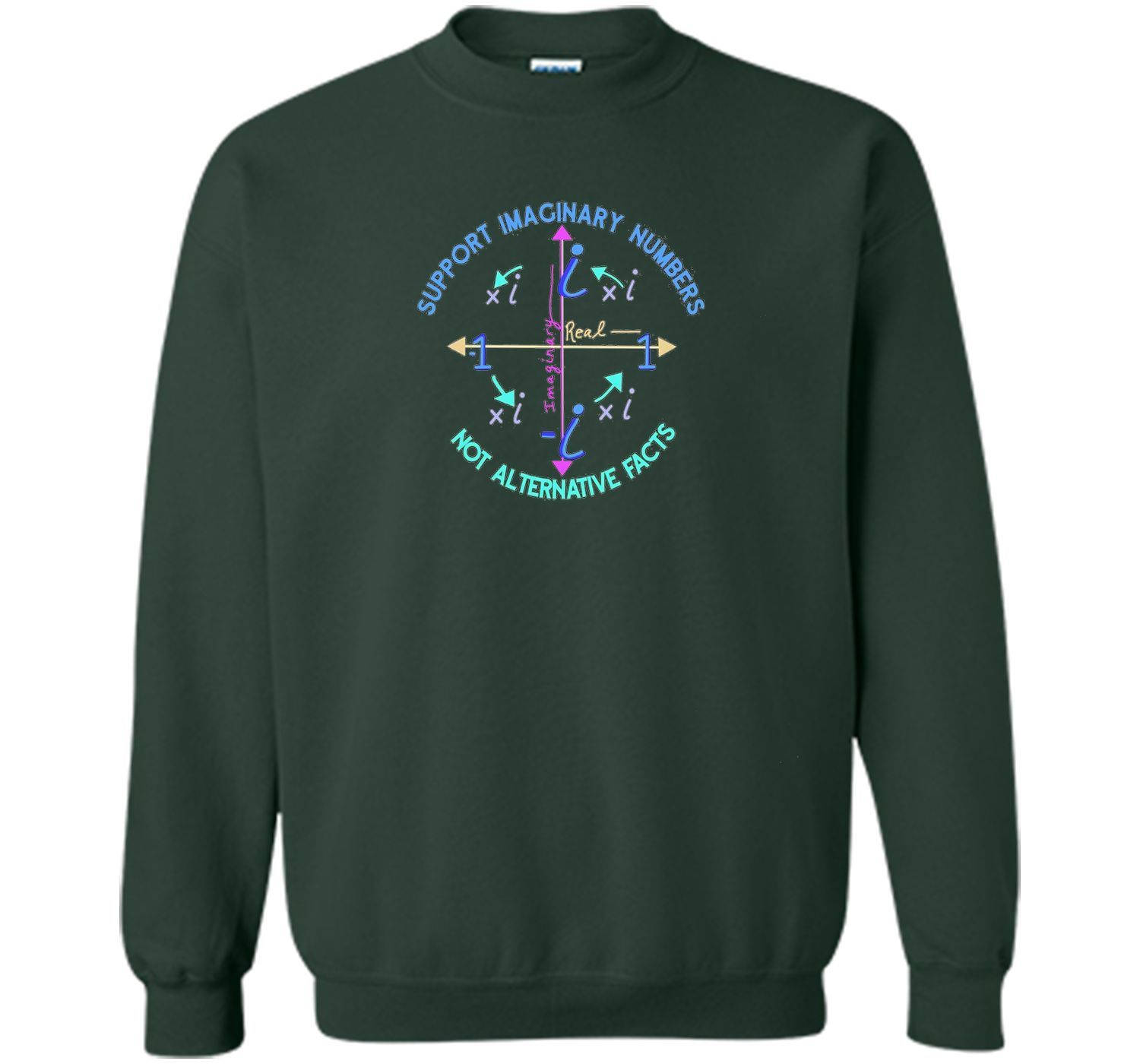 Support Imaginary Numbers Not Alternative Facts T Shirt