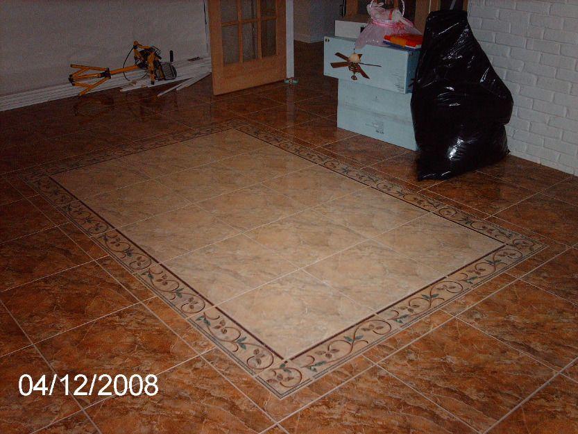 Instalación de Diseño en piso (cerámica) | Pisos | Pinterest