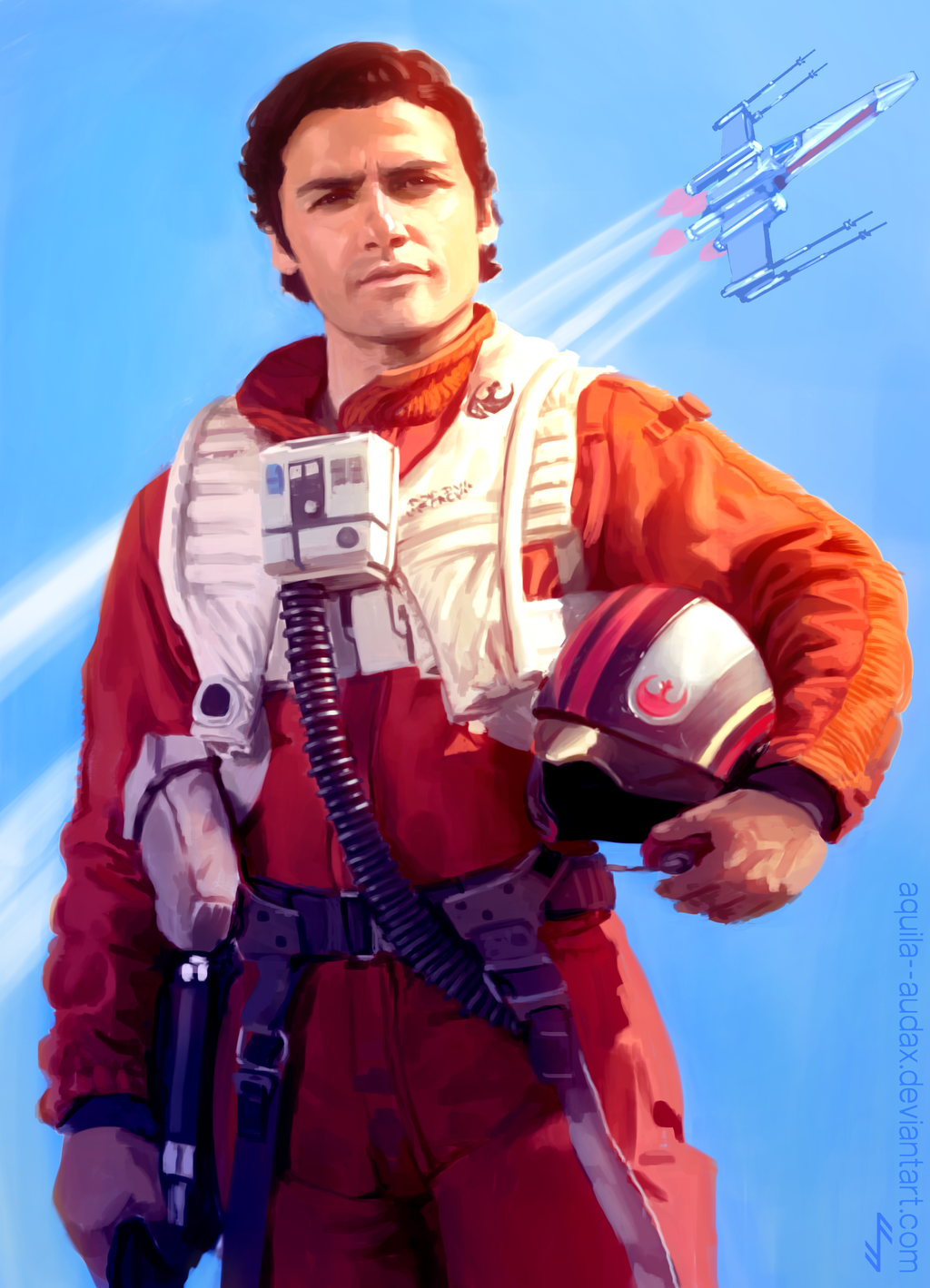 Poe Dameron 2 By Aquila Audax Star Wars The Old Star Wars Pictures Star Wars