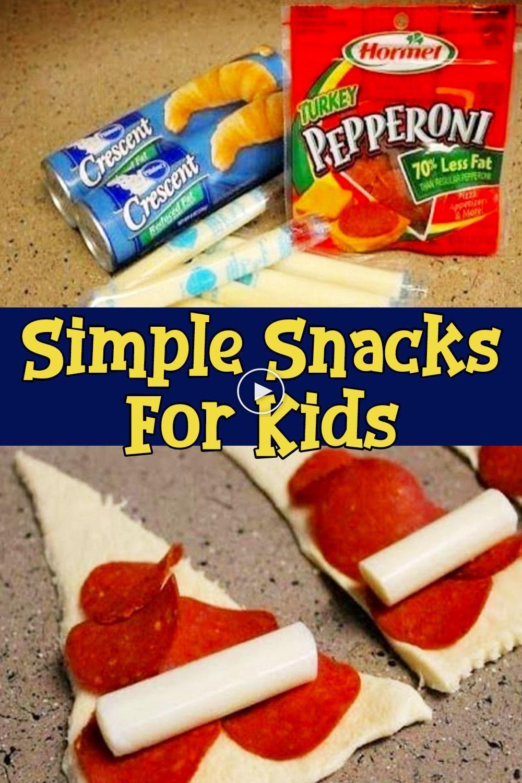 15 Recetas Divertidas Y Fáciles De Preparar Para Los Niños Involvery Fun Easy Recipes Easy Snacks Easy Meals For Kids