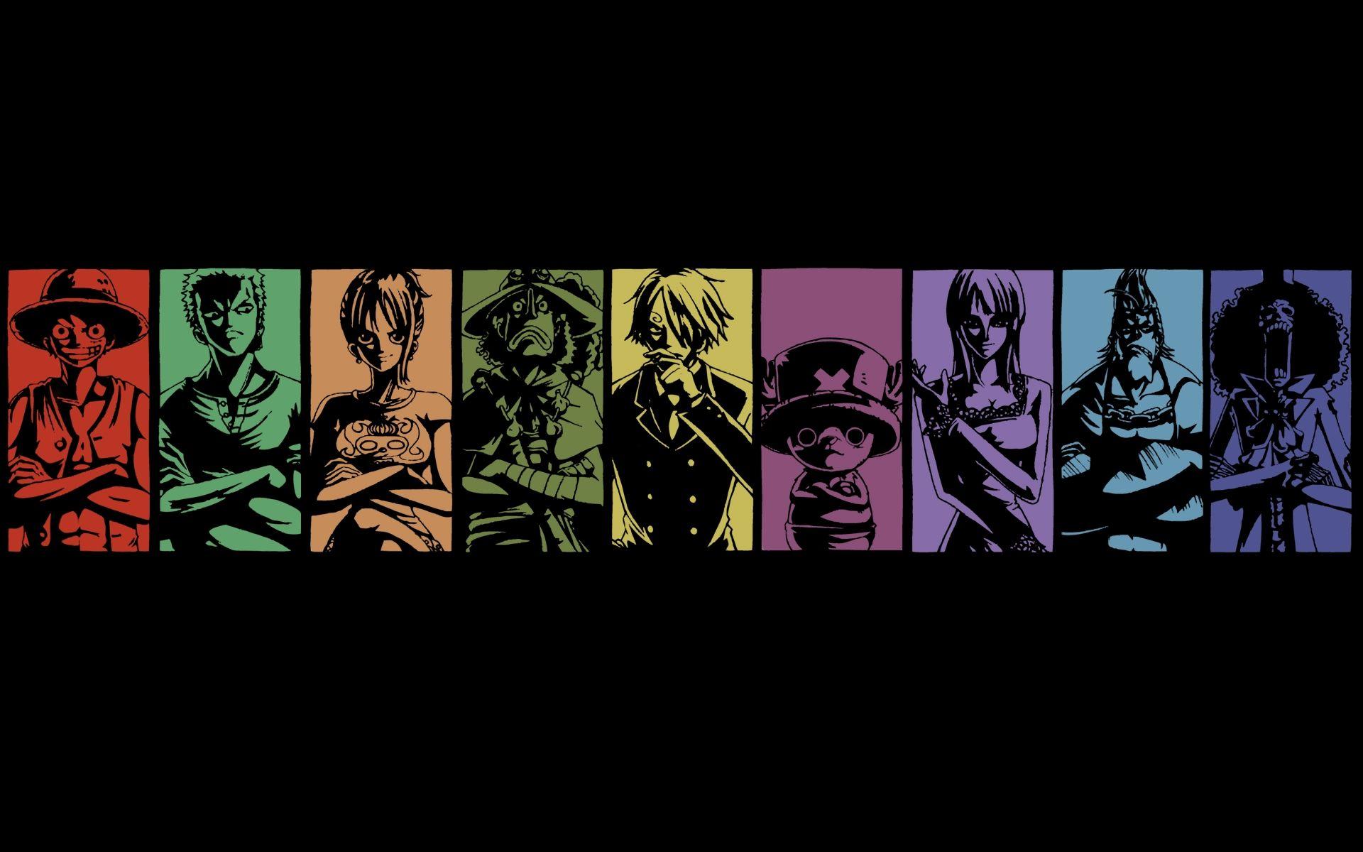 One Piece Crew Desktop Wallpaper Fondos de escritorio
