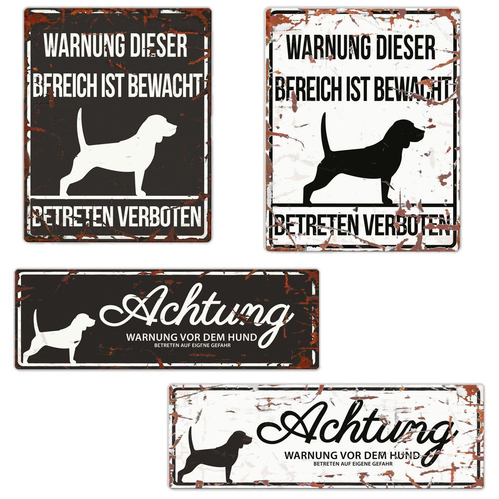 Pin Auf Hundeschilder