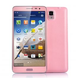 Pink Scribble 5.7 Inch IPS Display Android 4.2 Smartphone - MT6589 Quad Core 1.2GHz CPU, 8 Megapixel Rear Camera $249.99