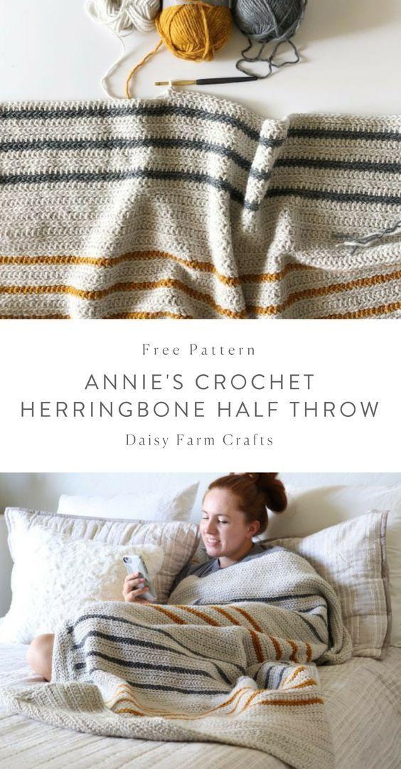 Daisy Farm Crafts #crochetstitchespatterns