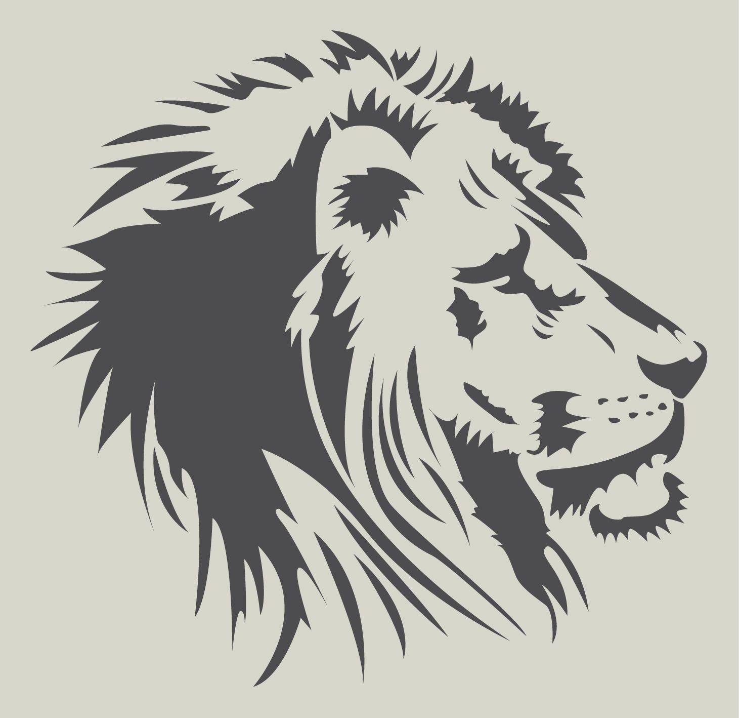 t te de lion pochoir lion pochoir en vinyle adh sif ref 279 2 tatouages pinterest tete. Black Bedroom Furniture Sets. Home Design Ideas