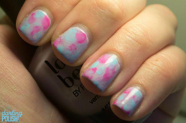 Tri Polish Challenge Watercolors How To Do Nails Nail Art Polish