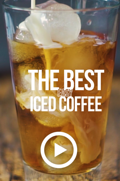 Photo of How to make THE BEST Easy Iced Coffee by The Cookie Rookie. Pin made by Overhead…
