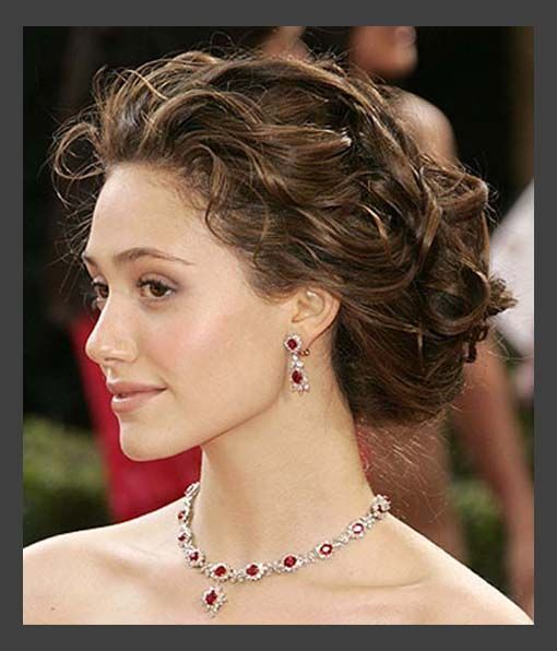 Hairstyles, Classic Sort Medium Wedding Hair Updos: Simple