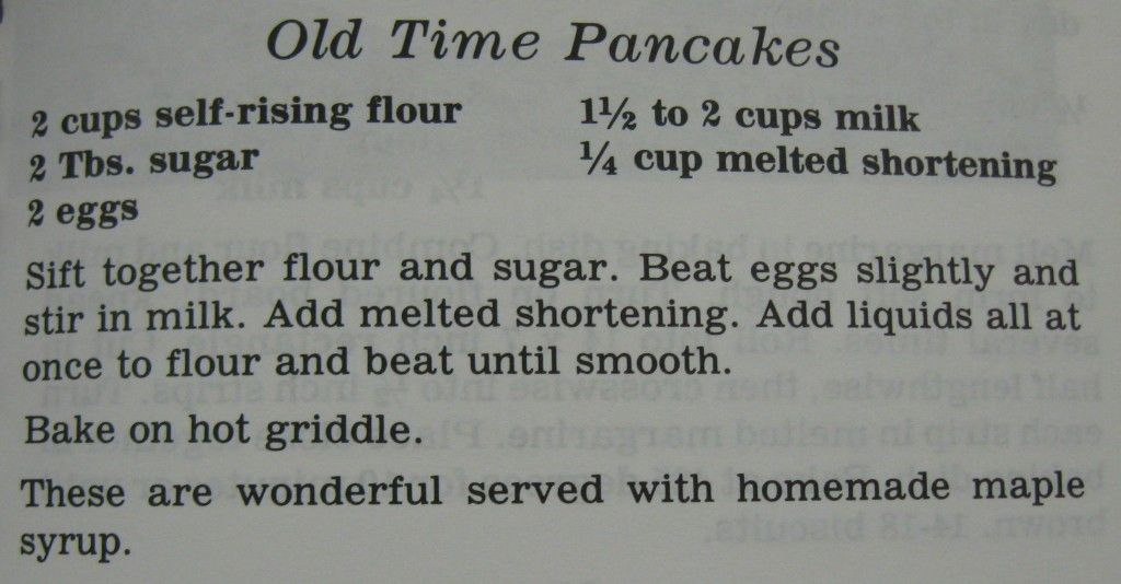 Old time pancakes just like grandma used to make lost and found when we were growing up mom didnt use krusteze or hungry jack pancake mix to make our pancakes always from scratch always with real butter ccuart Gallery
