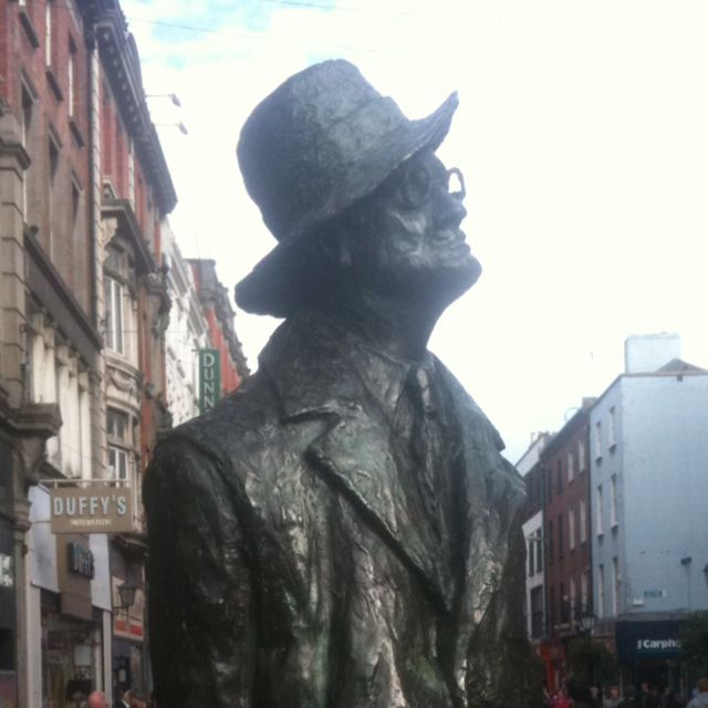 James Joyce in Dublin - while he wrote about it extensively, he was absent from it for most of his life