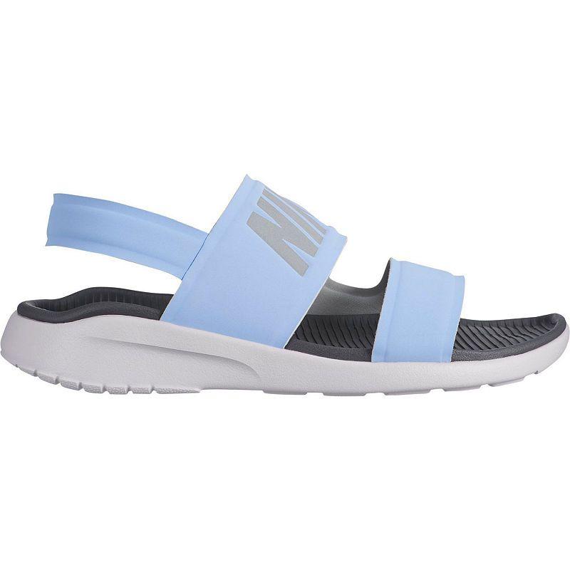 Nike Womens Tanjun Slide Sandals | Womens sandals, Nike ...