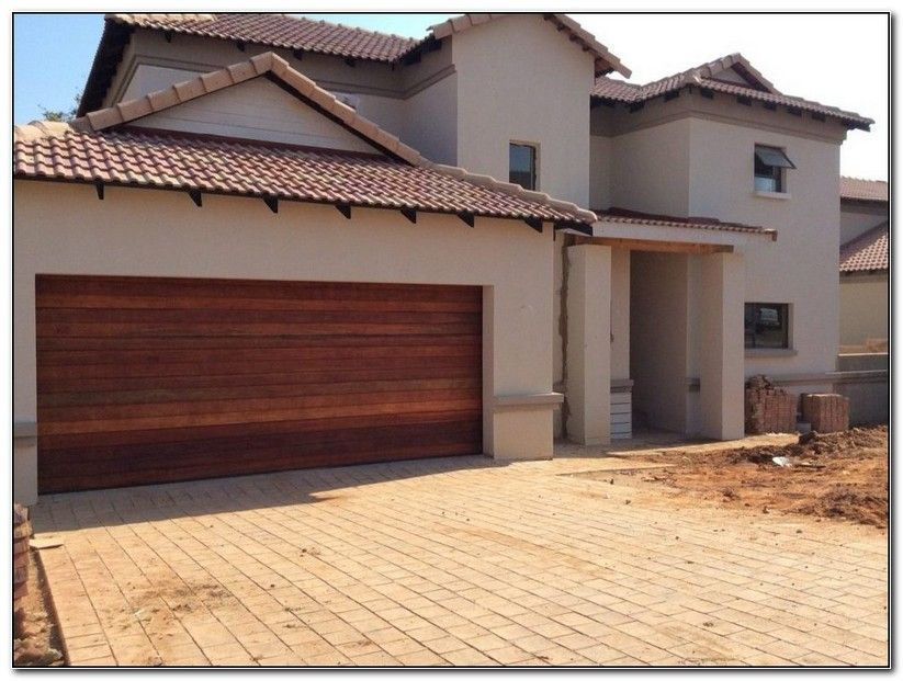 Wooden Double Garage Doors In Pretoria Garage Door Garage Door