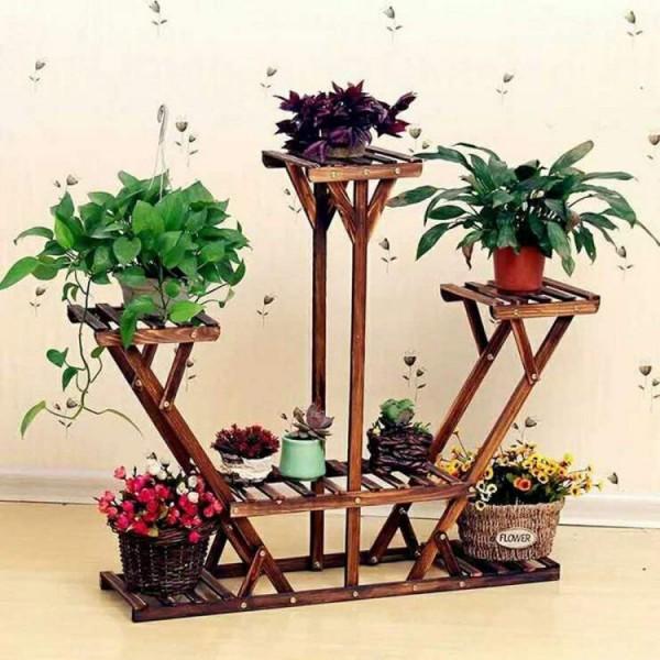 Kwietnik Drewniany Stojak Na Kwiaty Regal Polki Ogrodoweoutlet Com Pl Planta De Decoracao Interior Prateleiras De Jardim Decoracao