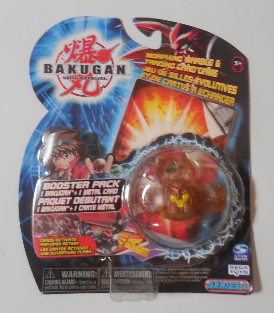 Bakugan Series 1 Translucent Subterra Fear Reaper Booster Pack