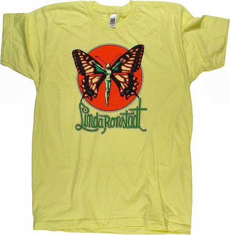 c90a0aaf Linda Ronstadt Men's T-Shirt - Men's retro t-shirts from classic rock  concerts.