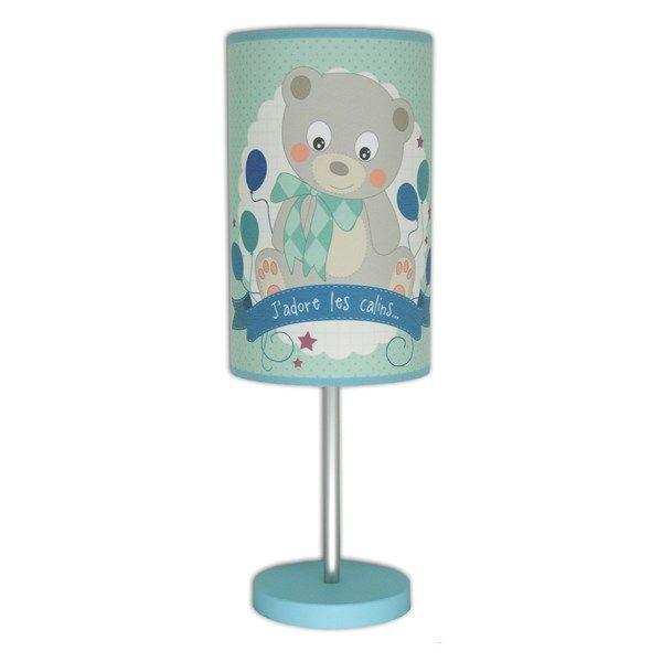 lampe enfant ours art loupiote zoom lampe poser ours cette lampe de chevet pour. Black Bedroom Furniture Sets. Home Design Ideas
