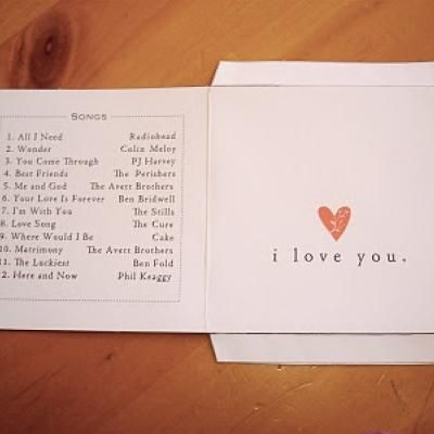 valentine mix cd cover | diy valentine's day gifts | pinterest, Powerpoint templates