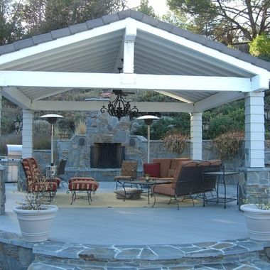 Open Beam Front Porch Designs 4 943 Covered Patio