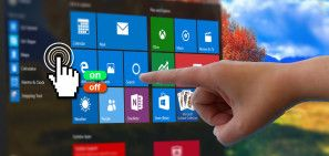 How to Toggle the Touchscreen in Windows 10 #Windows
