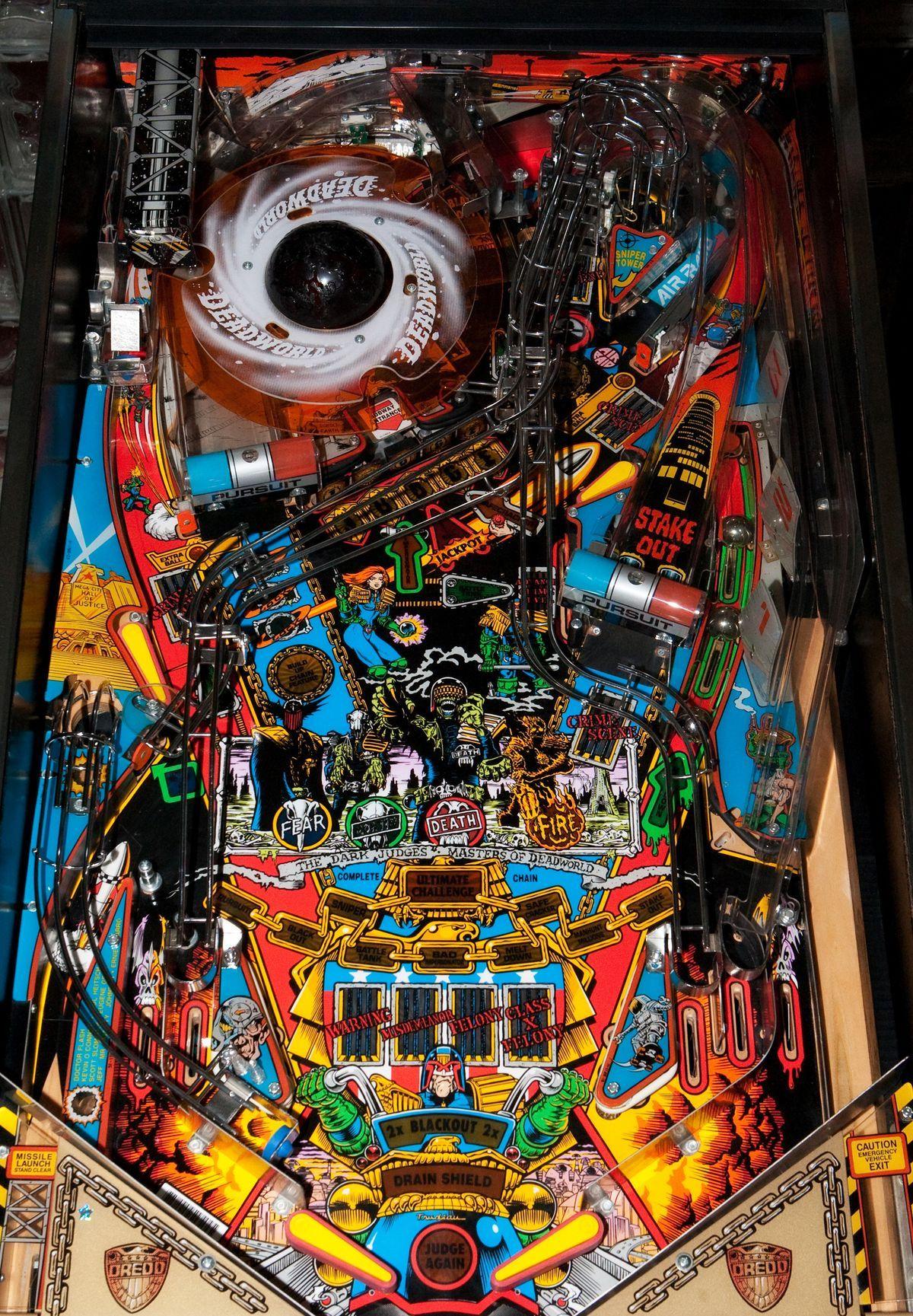 Pinball Machines Judge Dredd Pinball Machine Pinball