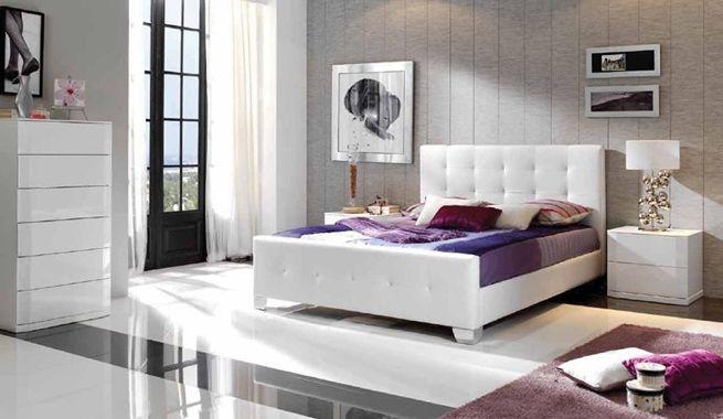 Ideas Para Decorar El Dormitorio Principal En Blanco Y Gris - Como-decorar-el-dormitorio-principal