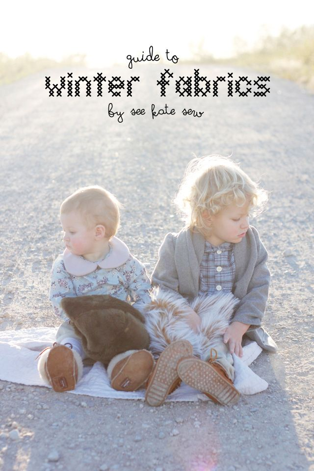 sewing 101: guide to winter fabrics - see kate sew -   19 DIY Clothes For Winter fabrics ideas