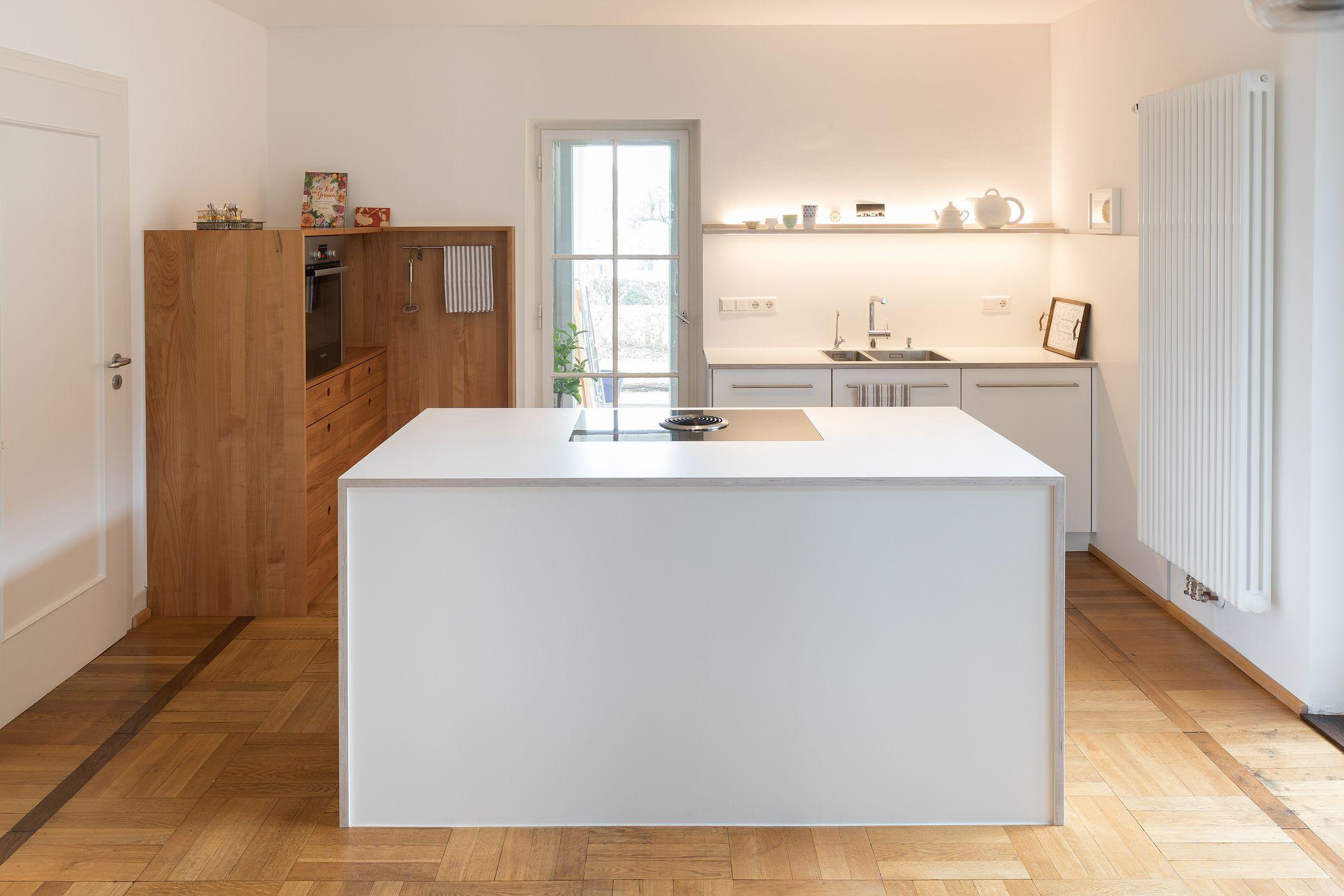 Kücheninsel | Kochinsel| weiß | kleine Küche | modern ...