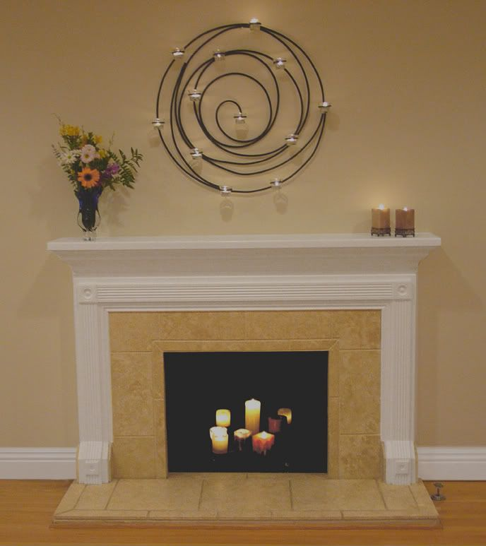 Fireplace Ideas Design   Fluted Mouldings With Medallions