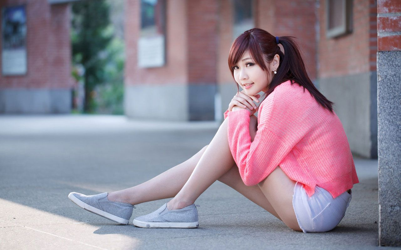 sweet charming girl hd photography wallpaper - chinese girls 1024