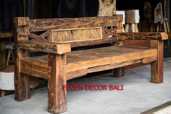 Bali Bench Made From Recycled Antique Houses. #Bali Bench# #Bali Antique  Furniture# | Balinese Decor Furniture | Pinterest | Balinese, Balinese  Decor And ...