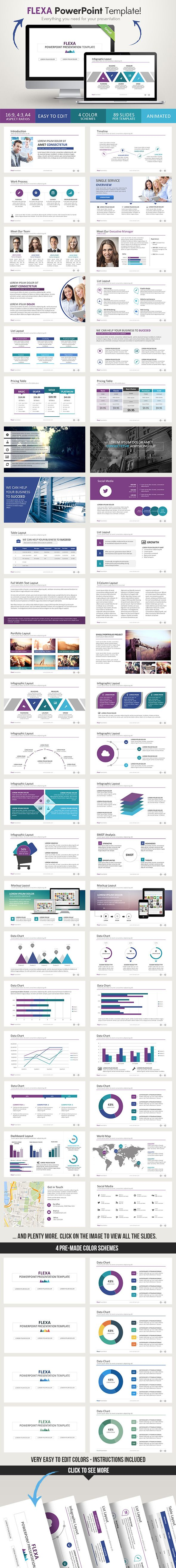 3d1b5849f1c842 ... Buy Flexa PowerPoint Presentation Template by Graphicadi on  GraphicRiver. Multipurpose PowerPoint presentation template for any ...