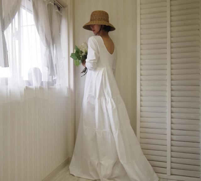 30 Beautiful Simple White Cotton Wedding Dress Best Inspiration Cotton Wedding Dresses Popular Wedding Dresses Casual Wedding Dress
