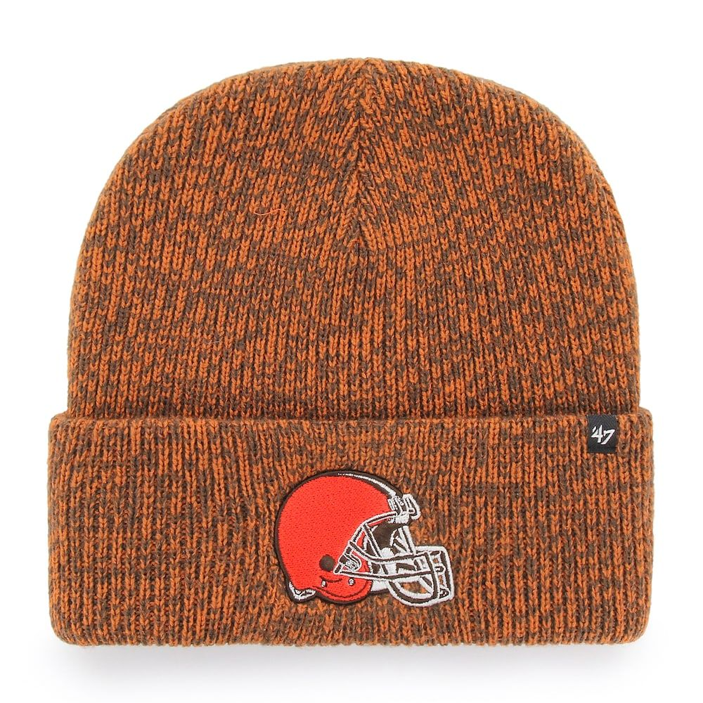 the best attitude 9add1 e79bc Adult  47 Brand Cleveland Browns Knit Beanie, Clrs