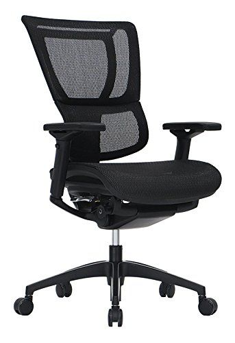 Ioo Eurotech Office Ergonomic Chair Black Mesh And Frame No Head Rest