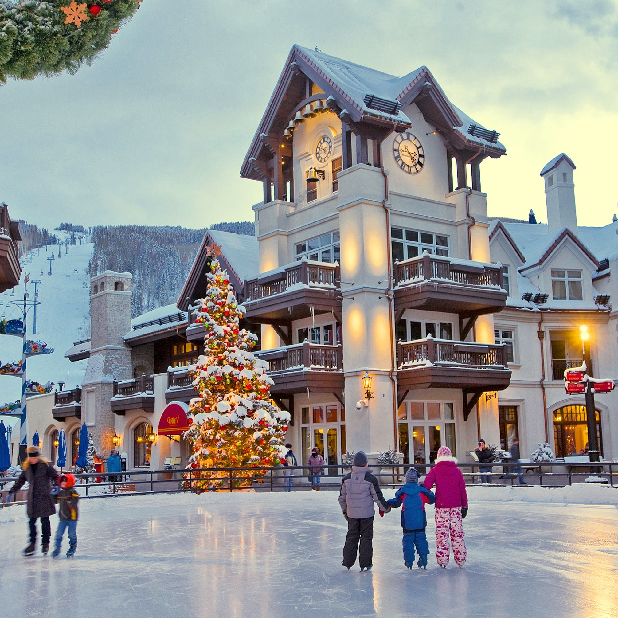 Pictures Of Vail Colorado In Winter