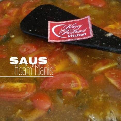 Resep Saus Asam Manis Oleh Nancy Firstiant S Kitchen Resep Resep Saus Ayam Goreng