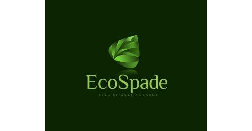 Masse grønne logoer