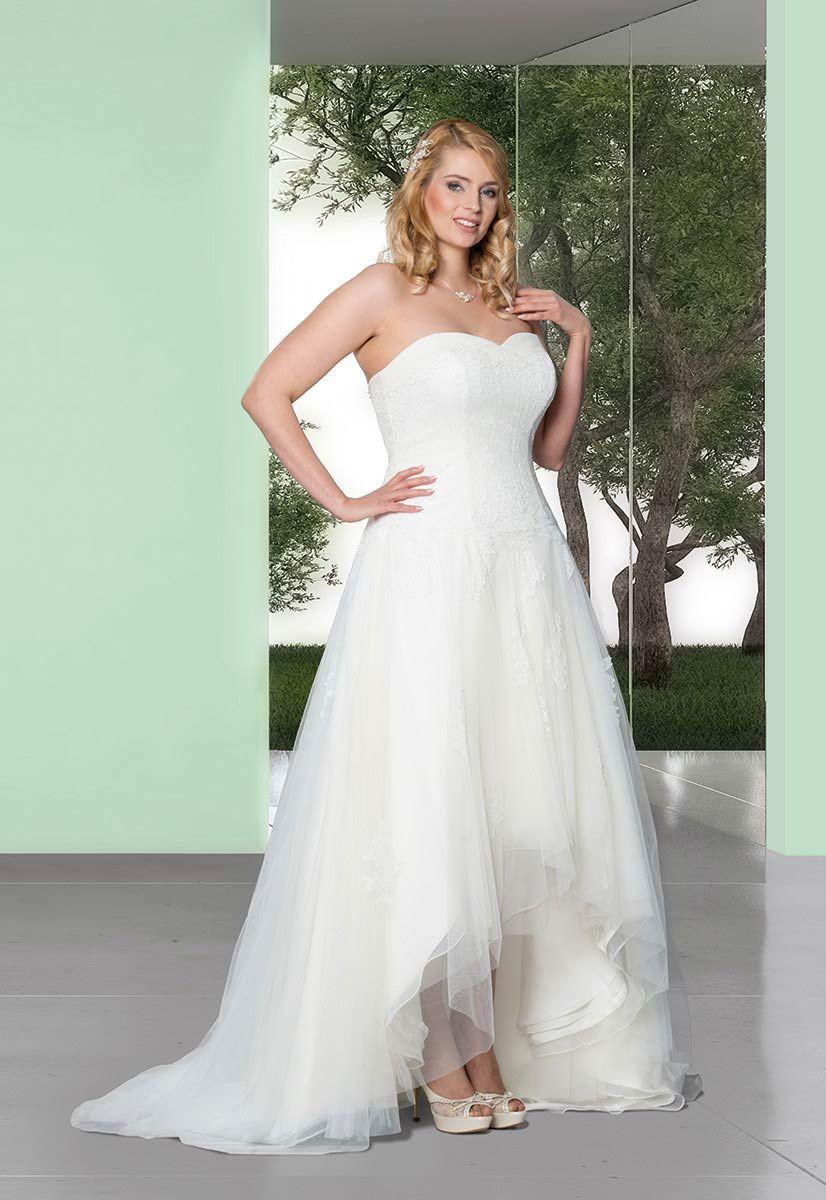 Melli / Molly Monroe by Lohrengel: Standesamt Kleid kurz I Plus Size ...
