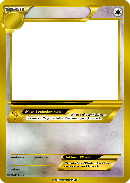 Blank Pokemon Card Mega Invitation Templates Choose To See - Blank birthday card template 2