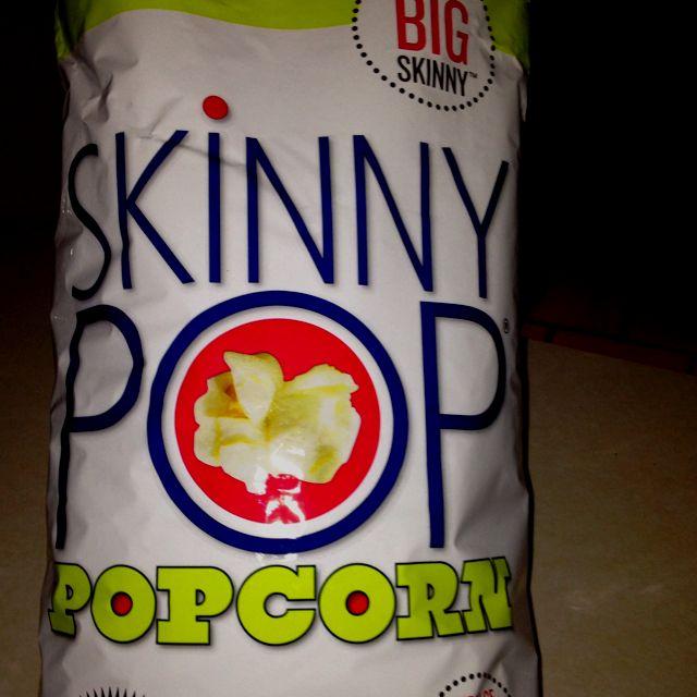 My New Favorite Snack Skinny Pop Popcorn Costco Now S A Huge Bag Of