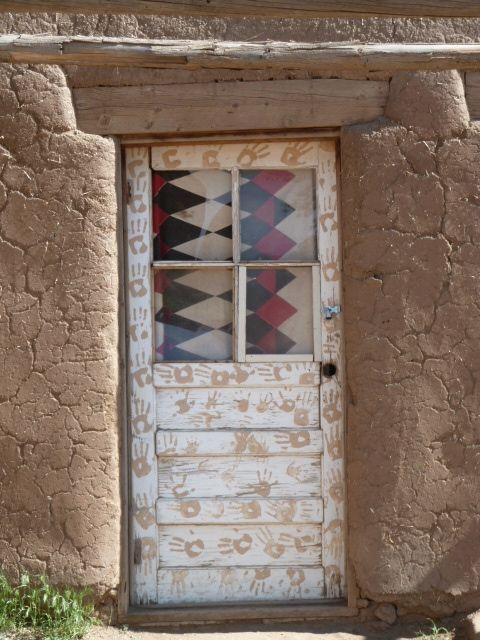 Native American Door Decor Blue House Home Decor