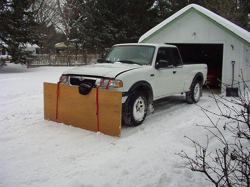 ford 8n snow plow setup