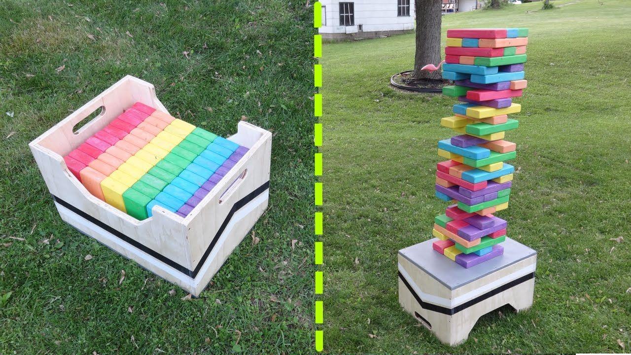 17 Diy Games For Outdoor Family Fun Summer Fun Backyard Games