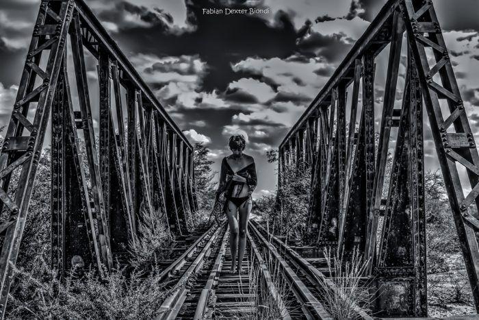 """En la vía""  de Fabián D. Biondi - Argentina - Abril/2016"